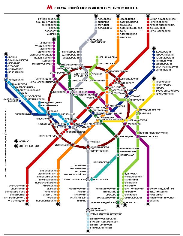 Поиск по схеме метро